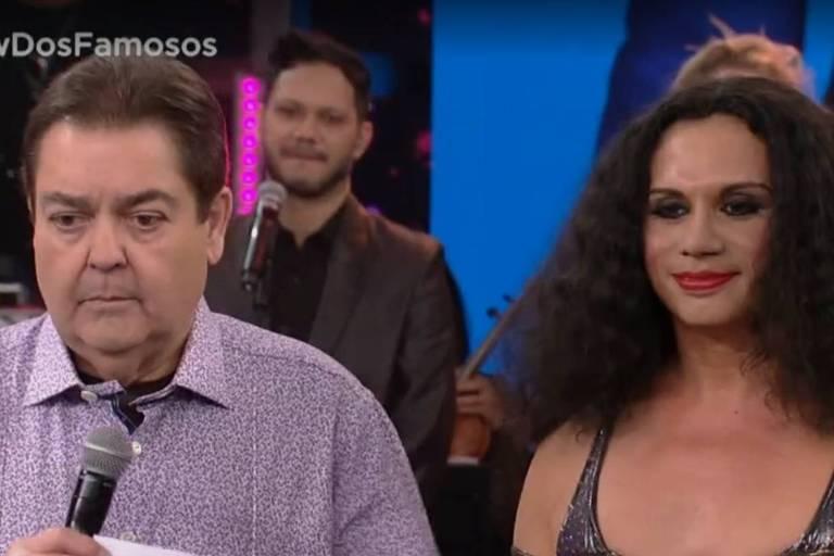 Silvero Pereira no Show dos Famosos