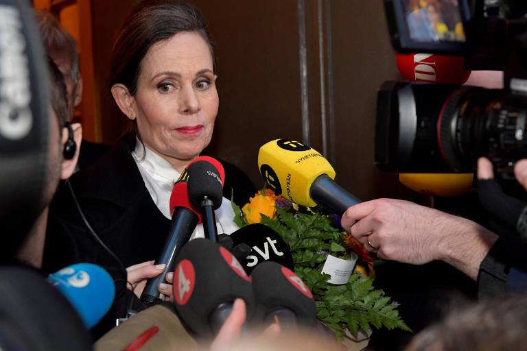 Sara Danius, ex-secretária-permanente da Academia Sueca