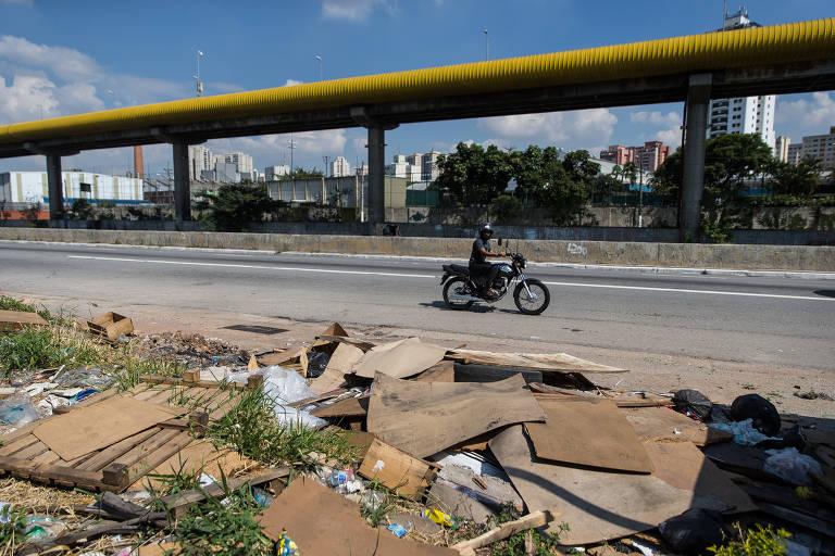 Lixo em São Paulo