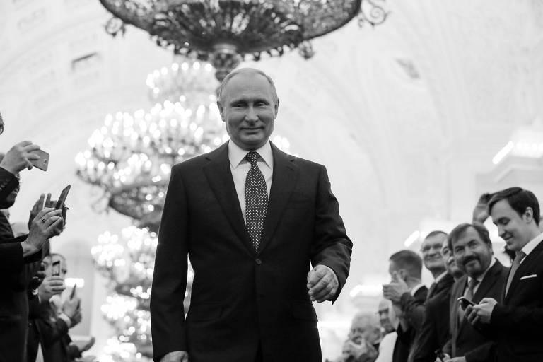 O presidente russo, Vladimir Putin, que iniciou o quarto mandato como presidente do país