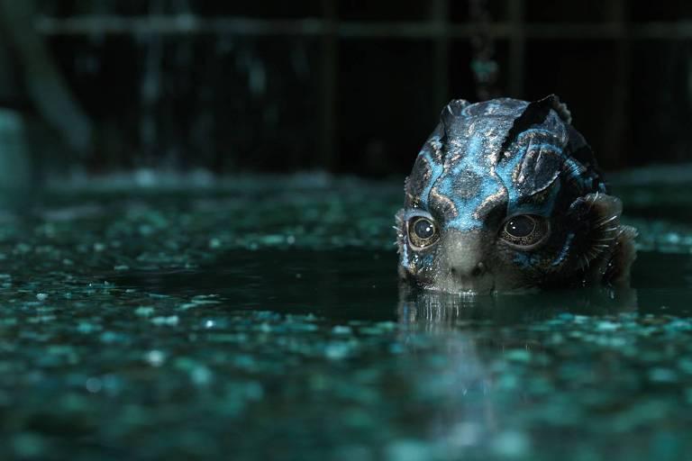 Cena de 'A Forma da Água', de Guillermo del Toro