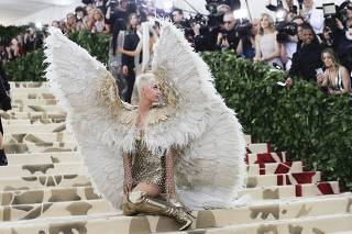 The Met Gala 2018 ?Heavenly Bodies: Fashion and the Catholic Imagination?