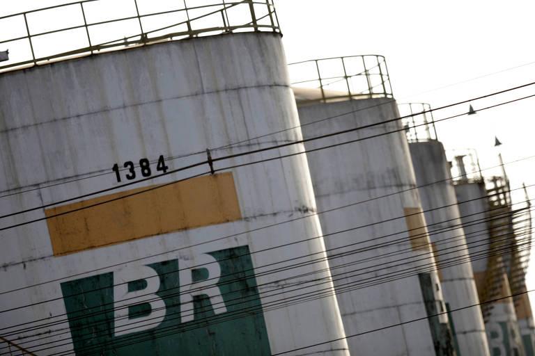 Tanque de combustível da Petrobras em Brasília