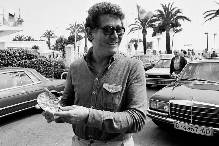 Ermanno Olmi em maio de 1978, no Festival de Cannes