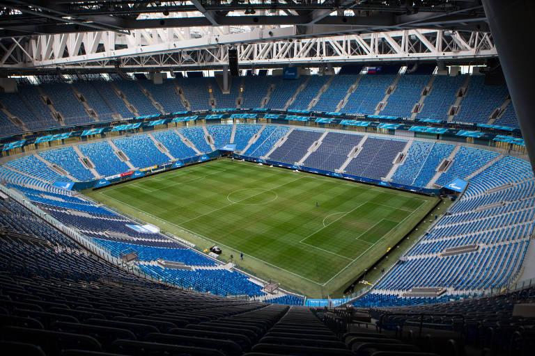 Estádios da Copa - Estádio São Petersburgo