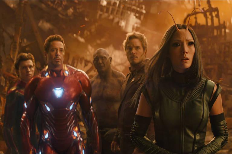 """Cenas do filme """"Vingadores: Guerra Infinita"""": Comcast quer superar oferta da Disney pela Fox"""