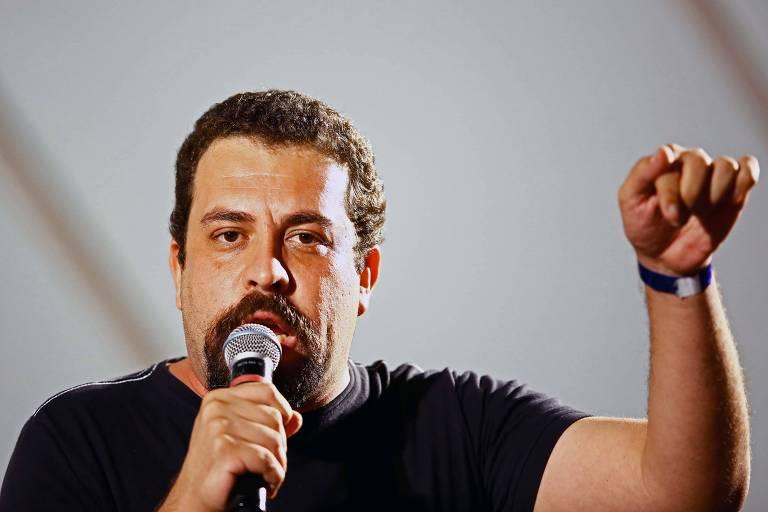 O pré-candidato do PSOL, Guilherme Boulos