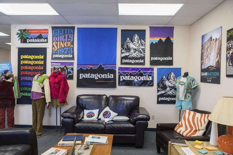 escritório da loja Patagonia
