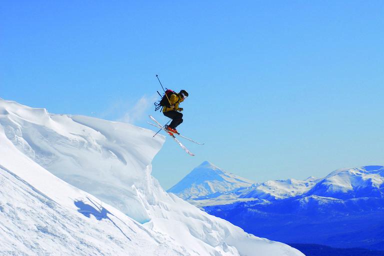Estações de esqui no Chile e Argentina
