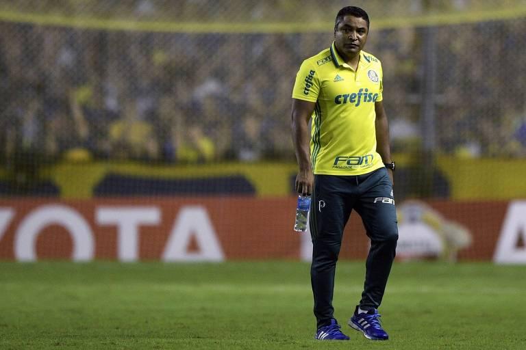 Roger Machado deve escalar o Palmeiras com força máxima também na Copa do Brasil