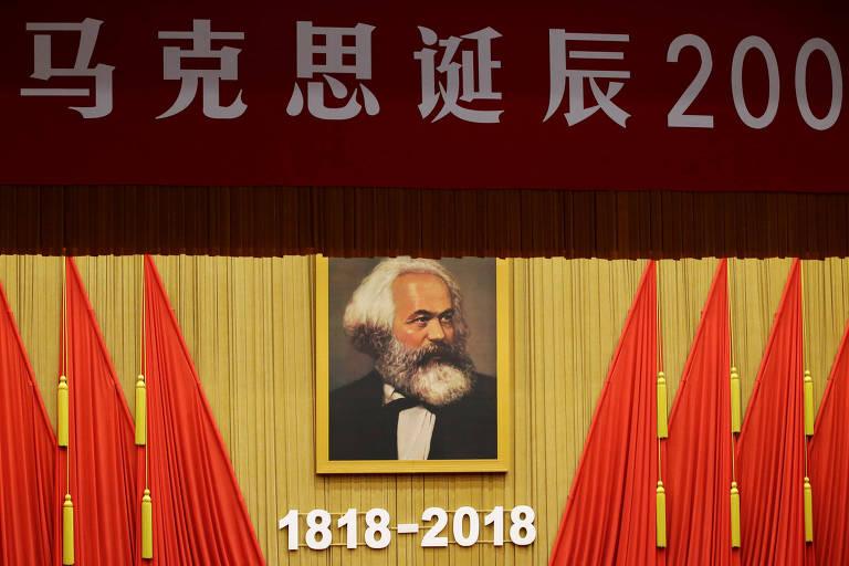 Karl Marx em Pequim?