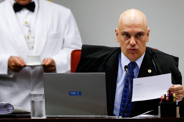 O ministro do STF (Supremo Tribunal Federal) Alexandre de Moraes
