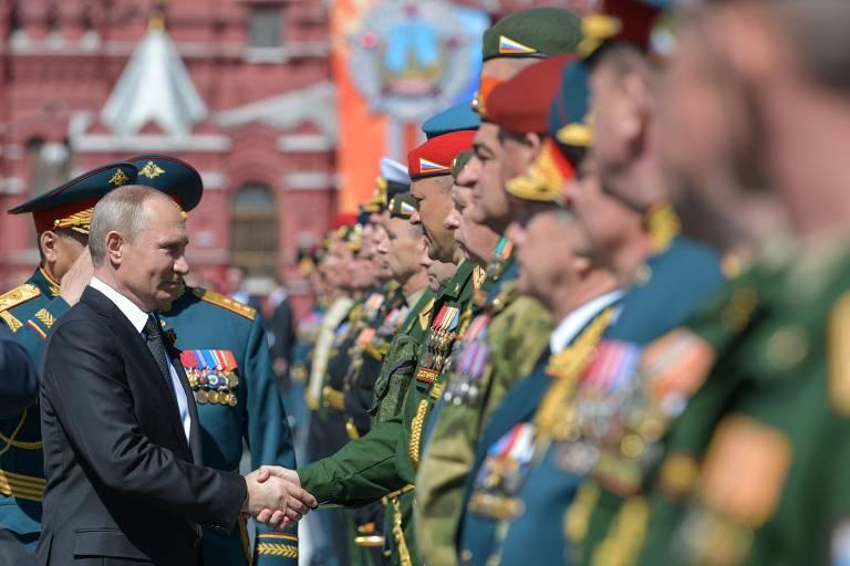 Comemoração do Dia da Vitória na Rússia