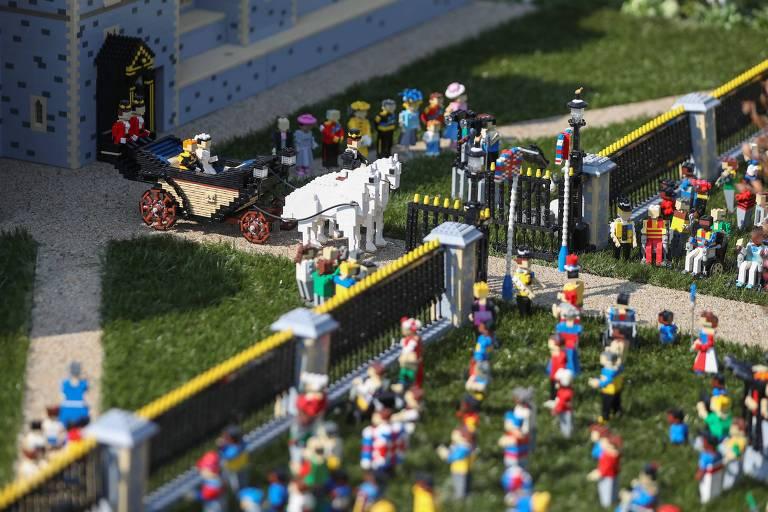 Casamento de Lego