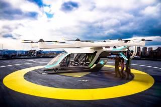 Embraer revela conceito de veículo aéreo urbano elétrico