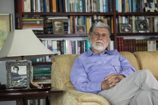 Retrato do ex-chanceler Celso Amorim