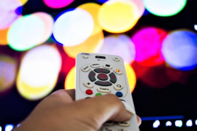 Controle remoto de TV a cabo