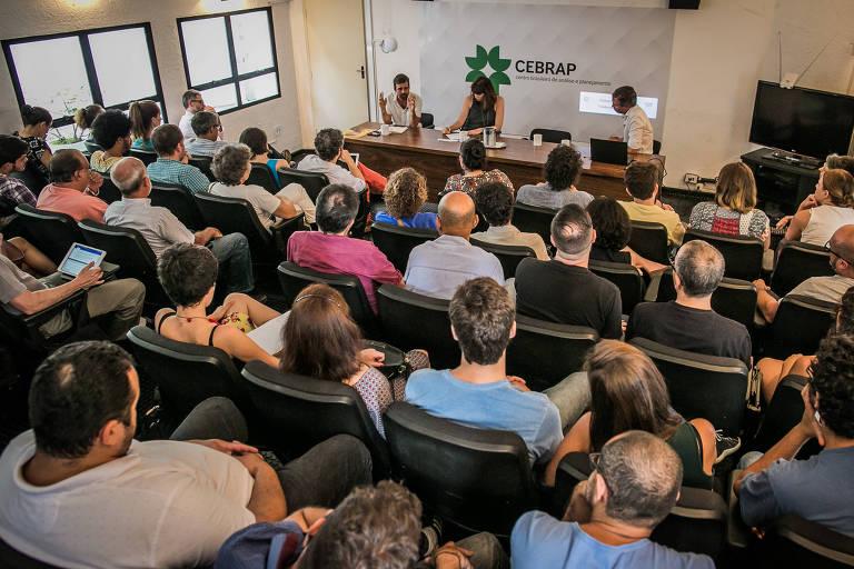 Seminário da Folha, no Cebrap, em 2017, discutiu os presídios e o crescimento do PCC