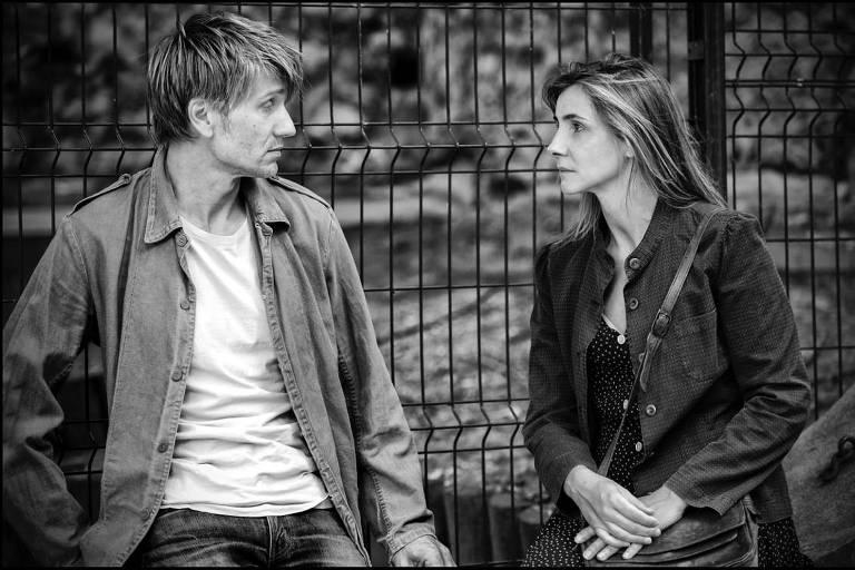 Stanislas Merhar e Clotilde Courau em cena do filme