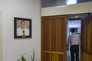 Hall da sala do conselho da reitoria da UFSC