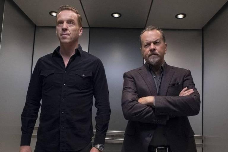 Cena da série Billions, que chega a terceira temporada na Netflix