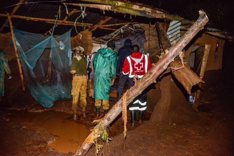 Ao menos 47 pessoas morrem após rompimento de represa no Quênia