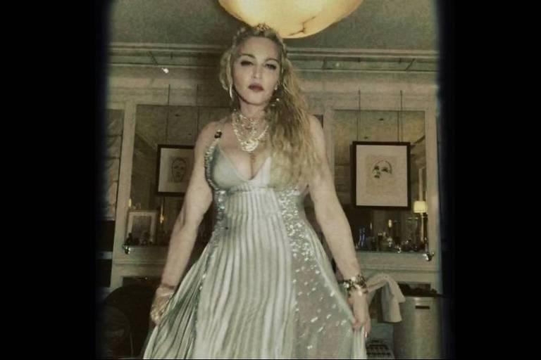 Madonna repetiu o vestido utilizado por ela em 1995