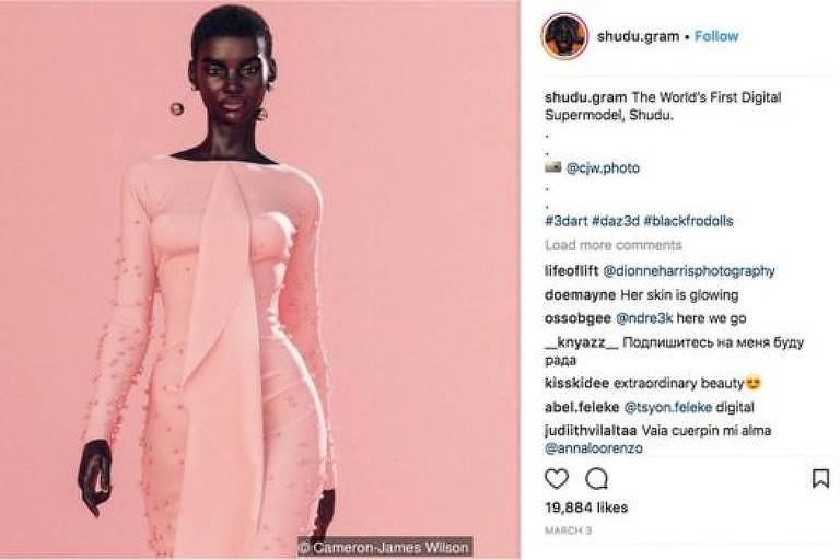O fascinante mundo das celebridades do Instagram que não existem no mundo real