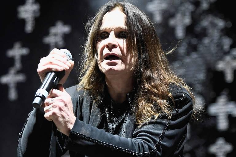 O cantor Ozzy Osbourne, 70