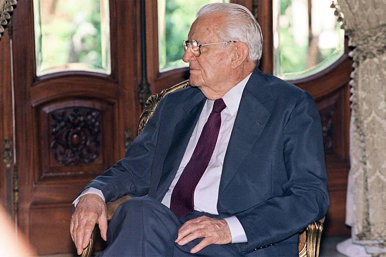 O ex-presidente da República Ernesto Geisel