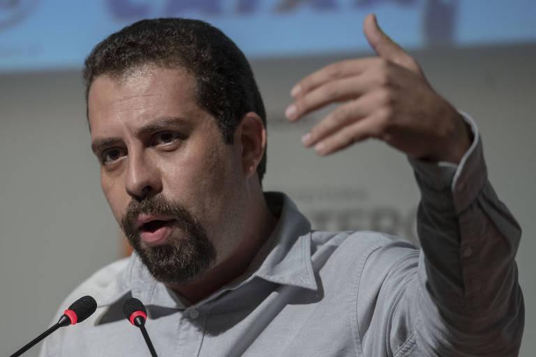 O pré-candidato pelo PSOL, Guilherme Boulos, que criticou o antissemitismo