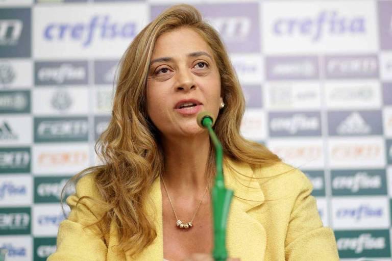 Leila foi à Justiça contra vices do Palmeiras