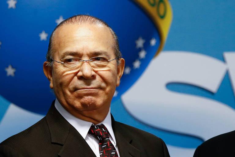 Ministro Eliseu Padilha (Casa Civil), que em 2004 recorreu ao STF contra uma decisão do então ministro do Supremo Ayres Britto, que encaminhava para a primeira instância ação contra ele