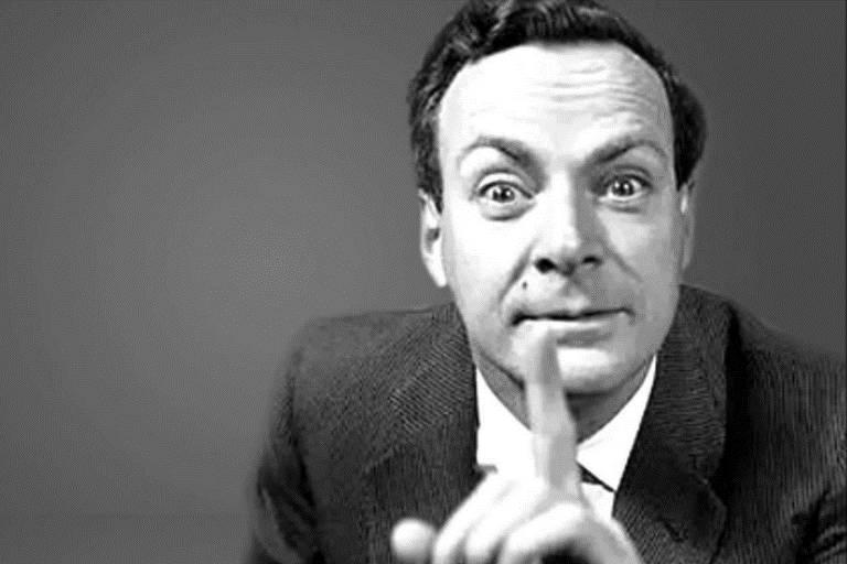 Richard Feynman em 8 imagens