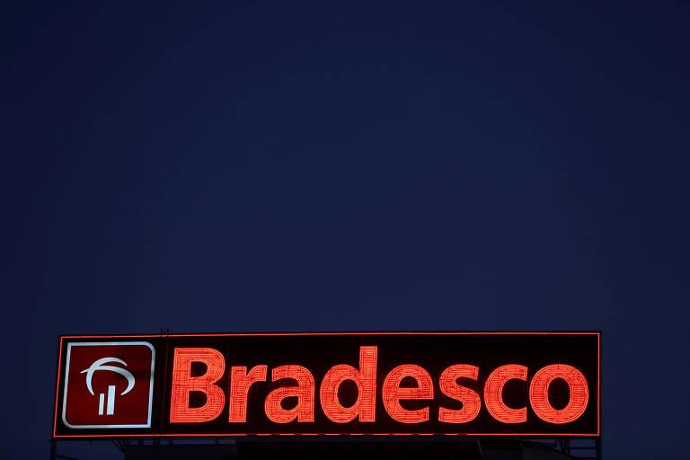 Logo do Banco Bradesco.