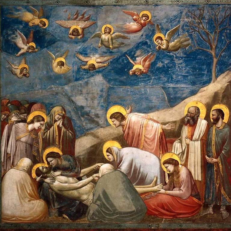 quadro de cristo e seus apóstolos
