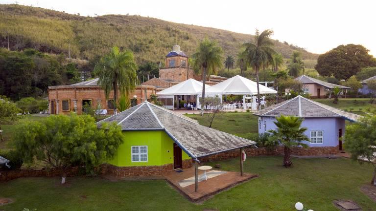Mosteiro de São Francisco de Assis Hotel e Pousada, em Brotas (SP)