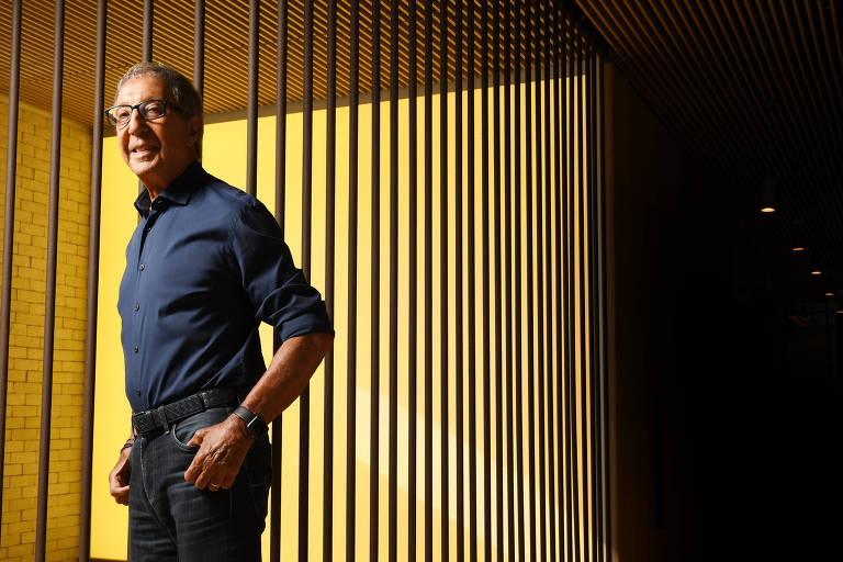 O empresário Abilio Diniz, em entrevista à Folha