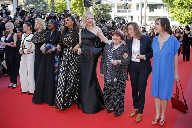 Marcha no Festival de Cannes