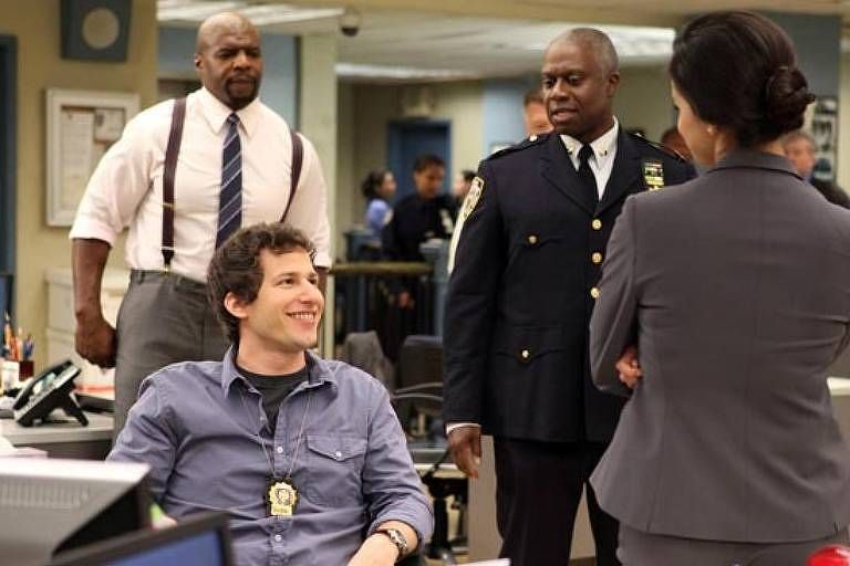 Cena da série 'Brooklyn Nine-Nine', da Fox