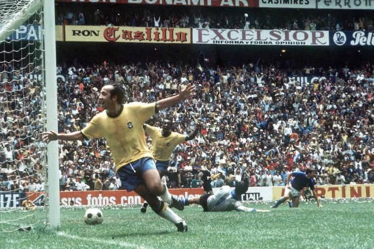Tricampeã mundial, seleção brasileira de 1970 foi time quase perfeito