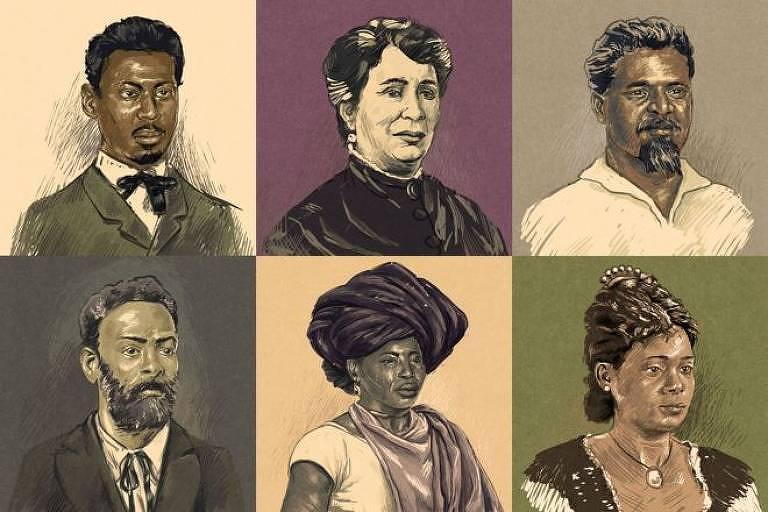 Batalha pela abolição já ocorria nas províncias brasileiras anos antes da assinatura da Lei Áurea, e reunia escravos, negros libertos, pessoas da classe média e da alta sociedade