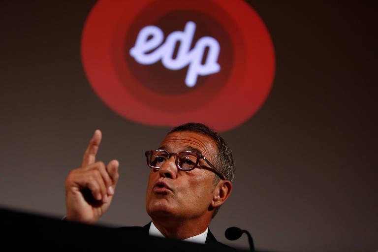 António Mexia, presidente do Conselho de Administração da EDP Energias do Brasil, em Portugal