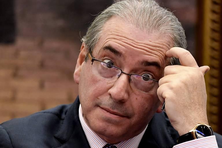 O ex-deputado federal Eduardo Cunha (MDB-RJ), condenado pela Lava Jato e preso desde 2016
