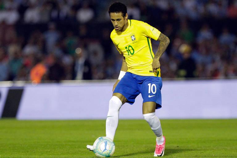 Neymar falou ao Jornal Nacional nesta terça (15) e falou sobre expectativa para a Copa do Mundo