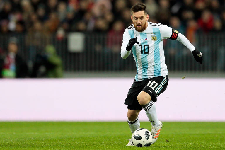 Lionel Messi disputa mais uma Copa do Mundo pela seleção argentina