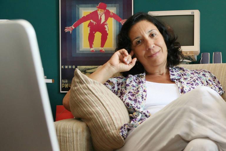 """Regina Zappa, autora do livro """"1968 - Eles Só Queriam Mudar o Mundo"""""""