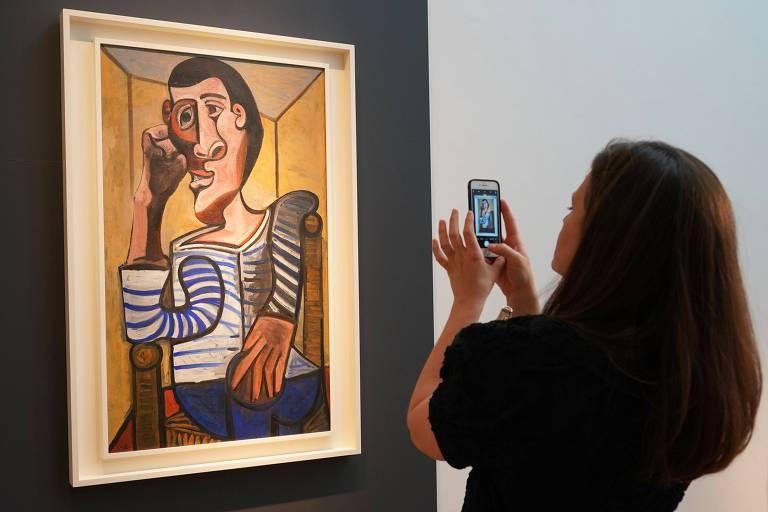Quadro de Picasso, estimado em US$ 70 milhões, que não irá mais para leilão