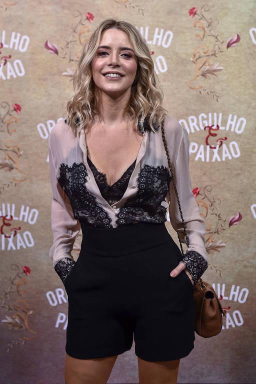 A atriz Christine Fernandes, que retorna à Globo para integrar elenco da novela