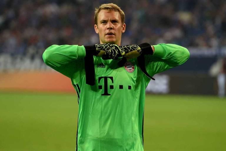 Manuel Neuer será o goleiro titular da seleção alemã na Rússia